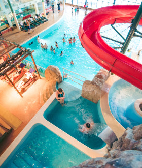 The area of water attractions and SPA in the Water Adventure Park will reopen