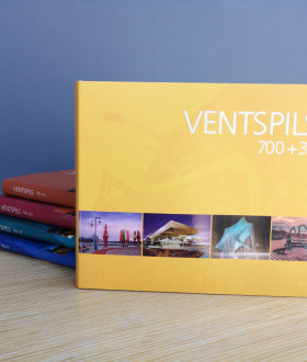 """A new Ventspils anniversary photo album – """"Ventspils 700+30"""" – is available for purchase"""