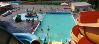 Aquapark am Strand