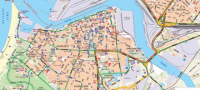 Ventspils city map