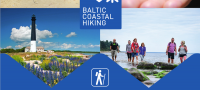 Baltic Coastal Hiking tourist...