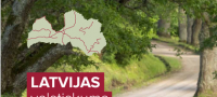 The routes of Latvia's...
